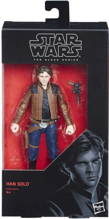 "Star Wars The Black Series Solo Movie Han Solo  6"" Action Figure"